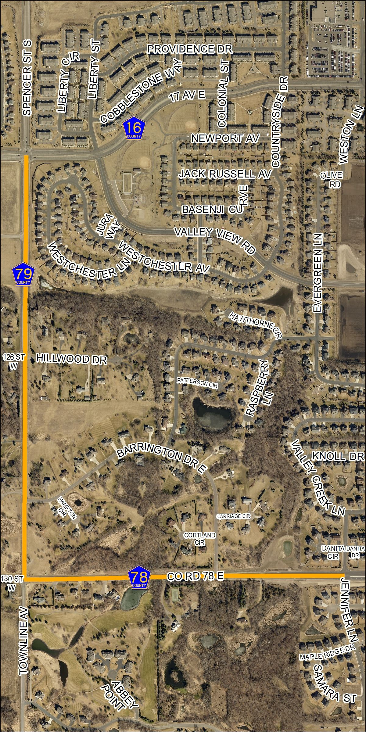 79-11 Trail Open House Map 2 of 2