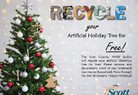 Recycle artificial trees